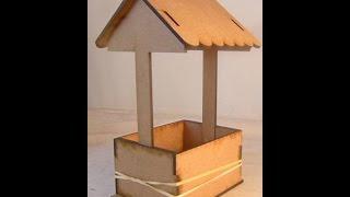 Postage Stamp Shadow-2x2 Shadow Box-wishing Well-stickle Storage-11 -4 -13
