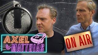 Ruhe bitte - Aufnahme läuft! (Maxel im Tonstudio) | Axel & Matthias