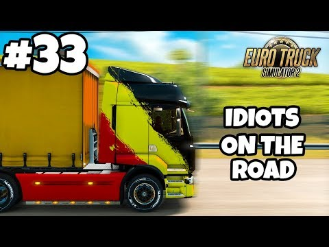 Euro Truck Simulator 2 Multiplayer: IDIOTS on the Road | Random & Funny Moments | #33