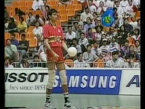 1998 Asian Games Men Volleyball China Japan Pool Match 1998亞