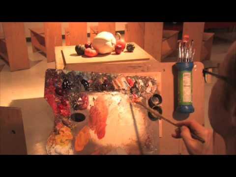 Oil Painting Still-life Demonstration-Part 2