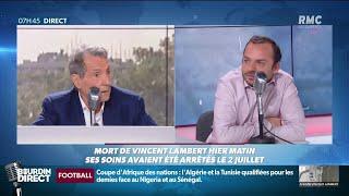 Mort de Vincent Lambert: son neveu, François, témoigne sur RMC