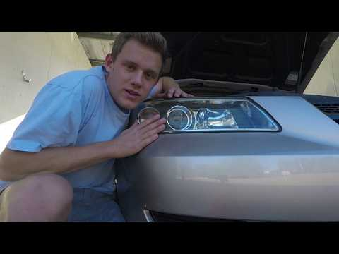 How to clean foggy headlights!