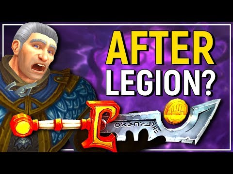 What Will Happen To Our Artifacts After Legion? The New 8.0 Artifact Replacement?