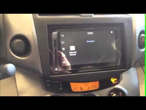 C 243 Mo Instalar Radio En Toyota Rav4 Youtube