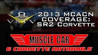 2013 Muscle Car And Corvette Nationals Coverage: 1956 Corvette SR2 Racer-Video