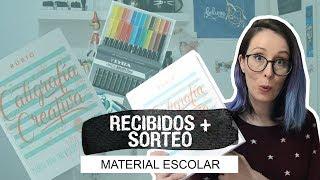 [SORTEO CERRADO] Haul Material Escolar + Sorteo Cuadernos Rubio (CO) - UGDT