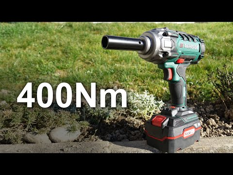 Impact Wrench PARKSIDE PASSK 20 Li-A1 (79€) - Unboxing And Test