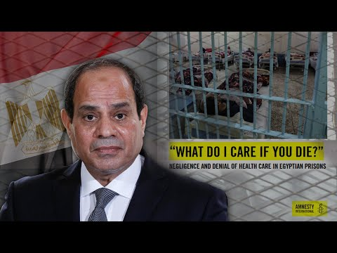 Egypt: Abused and denied heath care, prisoners' lives at risk