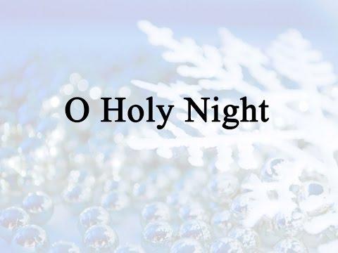 O Holy Night (Hymn Charts with Lyrics, Contemporary)