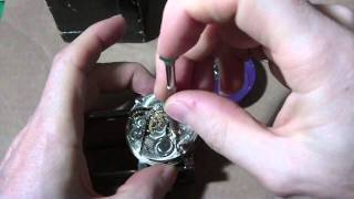 How I Install a mainspring on a Hamilton 974 pocket watch, part 1 of 2