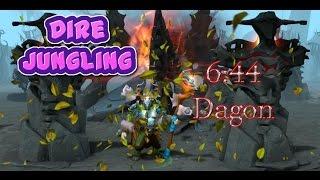 Dota 2 Howto Jungle 6.88 - Nature's Prophet 6 mins 44 secs Dagon - Dire Guide