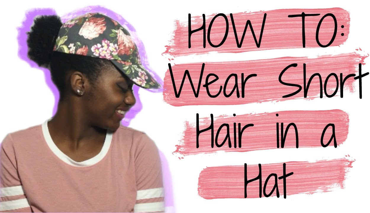 How To Wear A Dad Hat With Natural Hair