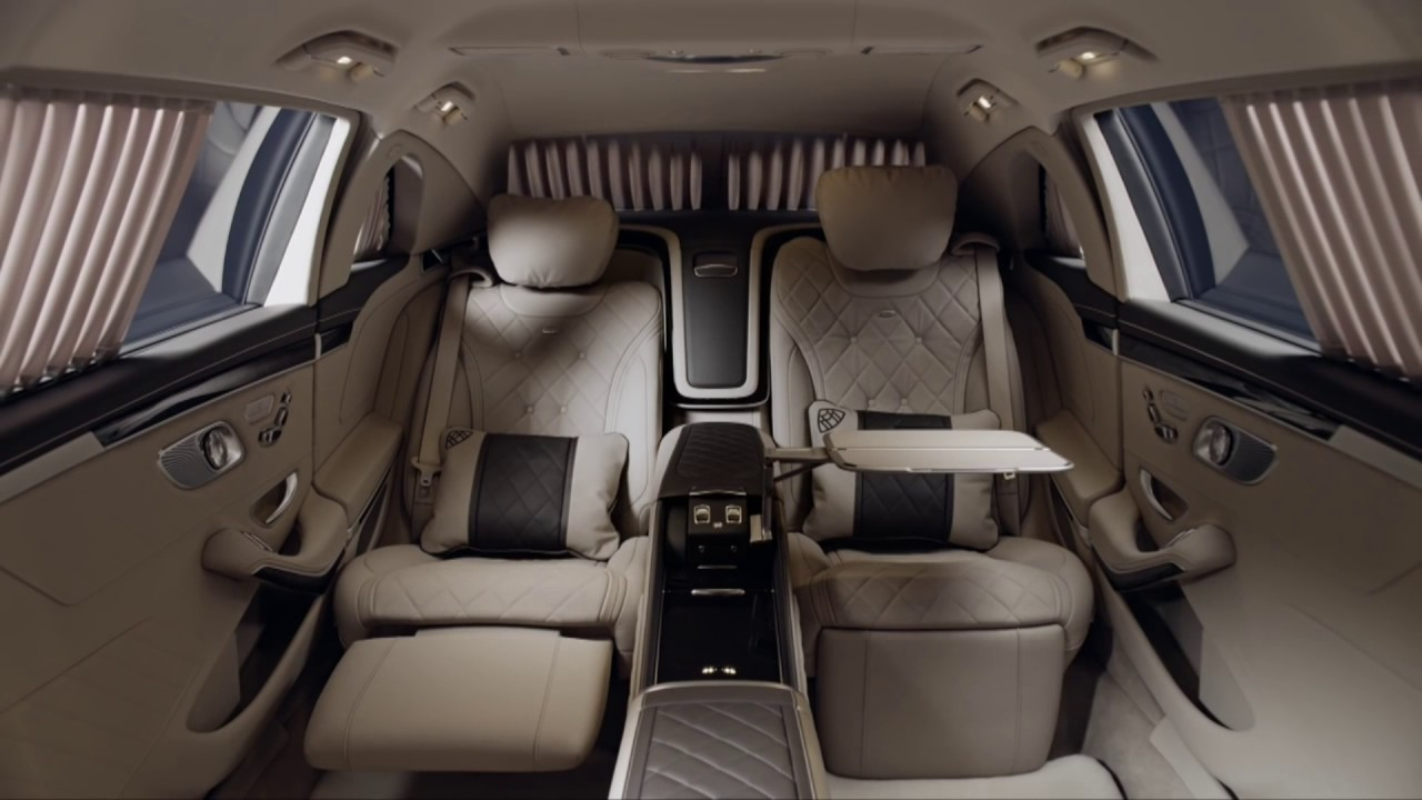 2017 Mercedes-Maybach S 600 Pullman - INTERIOR and EXTERIOR - YouTube
