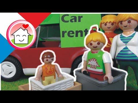Playmobil en français Les Overbecks démenagent - La famille Hauser