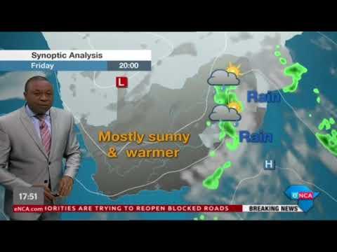 eNews Weather Evening - 19 April 2018