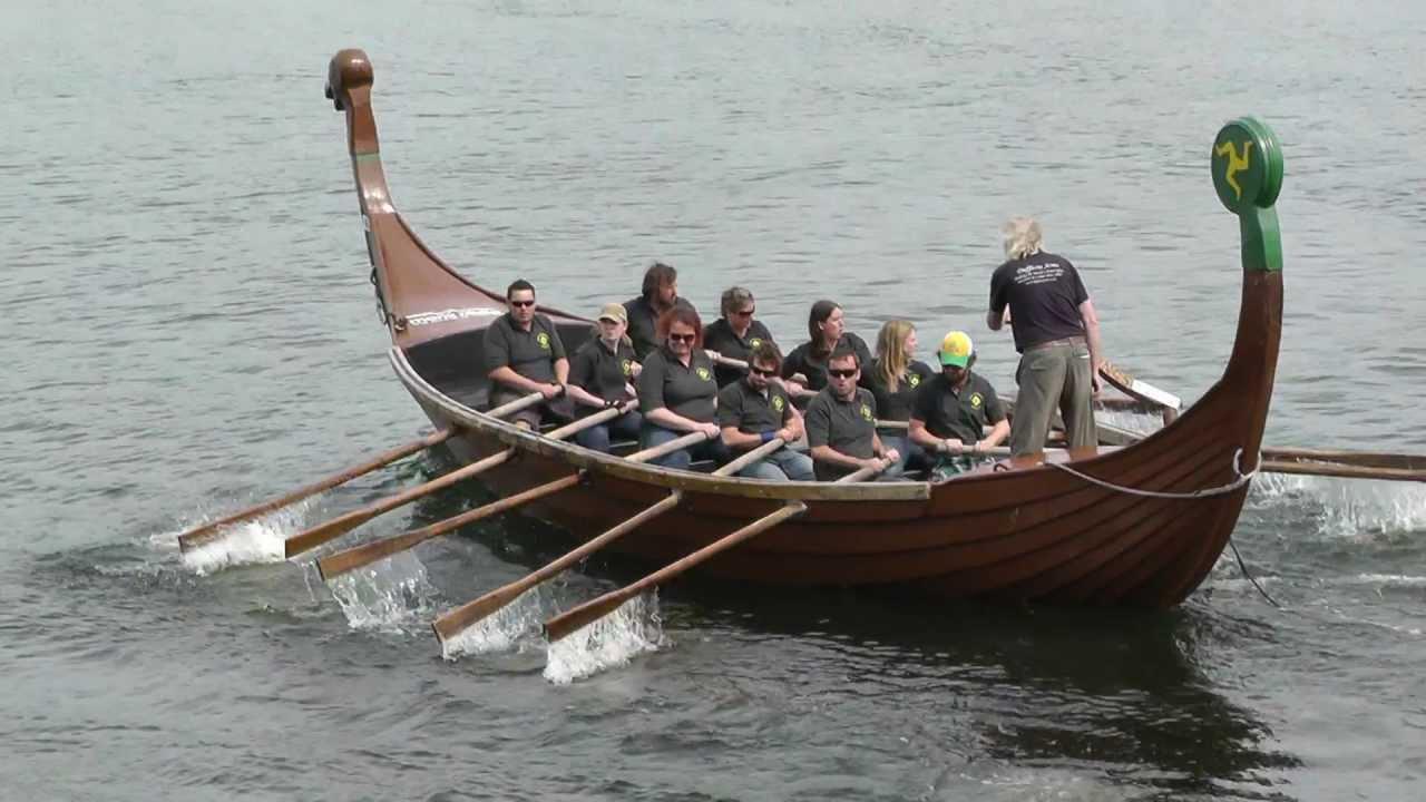 Viking Longboat Races - 2012 - YouTube