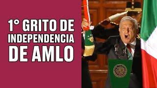 EN VIVO: El primer grito de independencia de AMLO como presidente