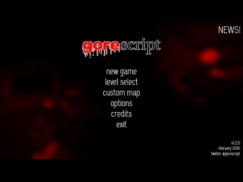 Gorescript speedrun by Jet3rd (2:53)