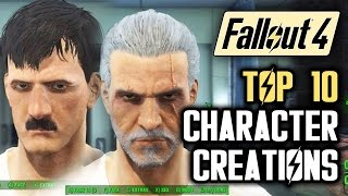 Fallout 4 Top 10 Character Creations in the Wasteland: Hitler, Walter White, Obama and More!