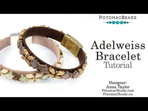 Adelweiss Bracelet (Beading Tutorial)