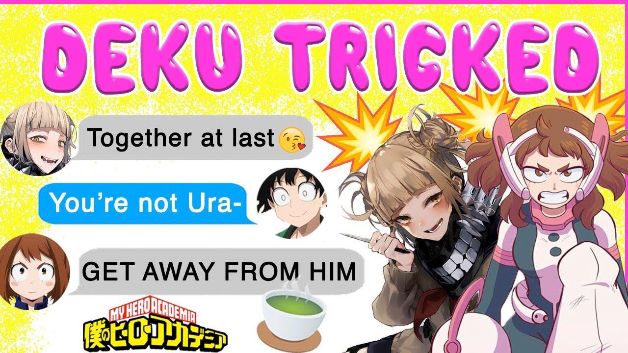 Download Uraraka CATCHES Deku KISSING TOGA! 😱 BNHA Texts - MHA Chat - IzuOcha