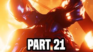 SPIDER-MAN PS4 Gameplay Walkthrough Part 21 - THE FIRE! FULL GAME (PS4 PRO Spiderman)