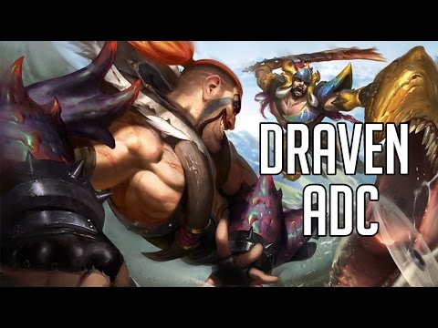 League of Legends - Beast Hunter Draven ADC- Full Game Commentary