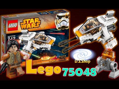 lego star wars rebels 75049 the phantom review lego en espa ol jueguetes de coleccion lego. Black Bedroom Furniture Sets. Home Design Ideas