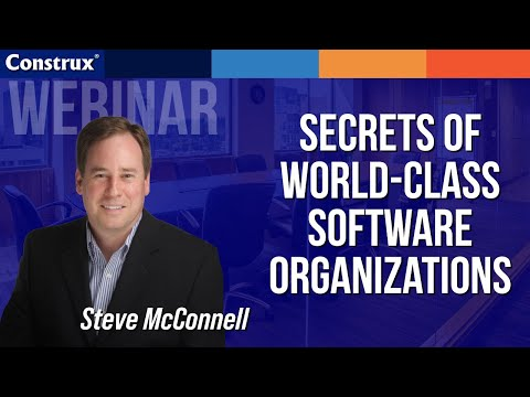 Secrets of World-Class Software Organizations
