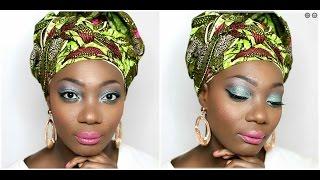 SWEET AFRICA-Make up tutoria