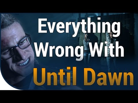 GAME SINS | Everything Wrong With Until Dawn In A Whole Bunch Of Minutes
