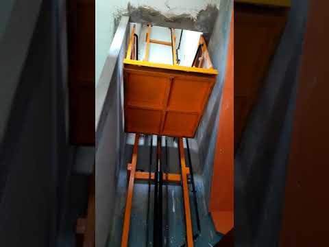 Goods lift testing || Siddi Vinayaka industries