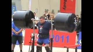 2011 World's Strongest man- Squat Lift- Zydrunas Savickas