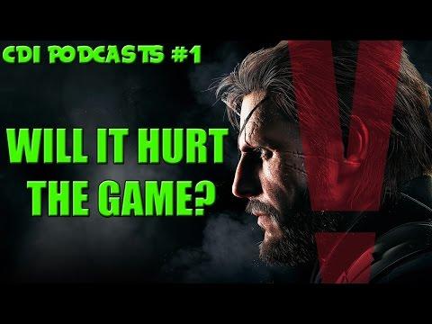 CDI Podcasts #1 - Will Micro Transactions Hurt The Phantom Pain?