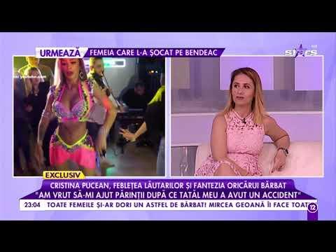 Cristina Pucean, cea mai bogată dansatoare din România