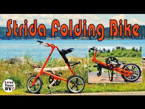 Reviewing the Remarkable Strida Folding Bike