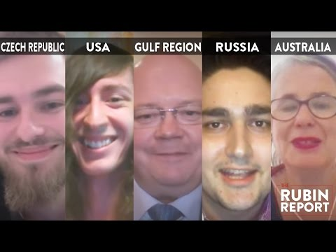 Rubin Report Fan Show: Czech Republic, Texas, Gulf Region, R