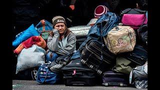 Calamidad pública en Ipiales por ríos de venezolanos que buscan cruzar a Ecuador