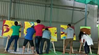 RangrezZ Group Painting Art
