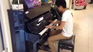 No Game No Life Opening Piano - This Game - In a supermarket !