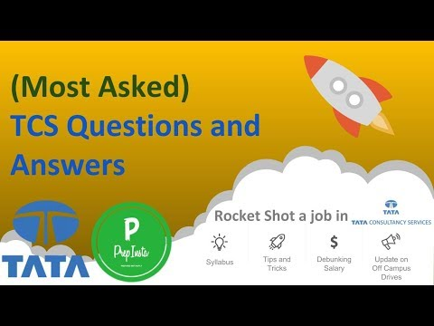 (Most Asked) TCS Questions And Answers