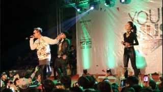 YOUNG MUSIC HẢI PHÒNG - Xin Anh Đừng - LK & JustaTee & Emily