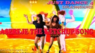 Just Dance 4-Asereje (The Ketchup Song) 5 stars