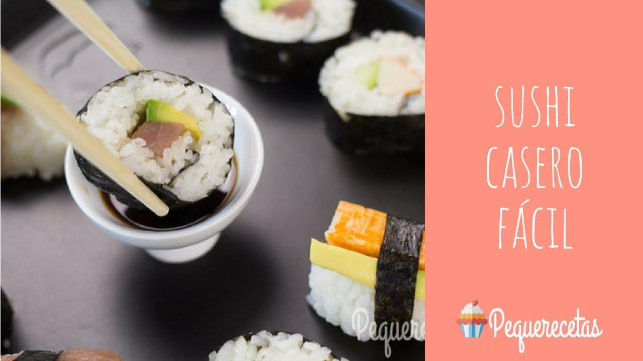 Cómo Hacer Sushi Sushi Casero Fácil