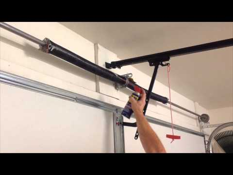 How To Grease Your Garage Door Garage Door Maintenance