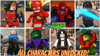 All Characters Unlocked in LEGO DC Super Villains