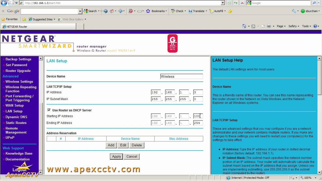 Networking Guide: Part 4 - Finding Your Network's DHCP Range - Apex