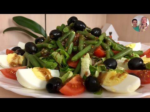 Самый Вкусный Фитнес Салат с Тунцом! Салат с тунцом! Салат Нисуаз