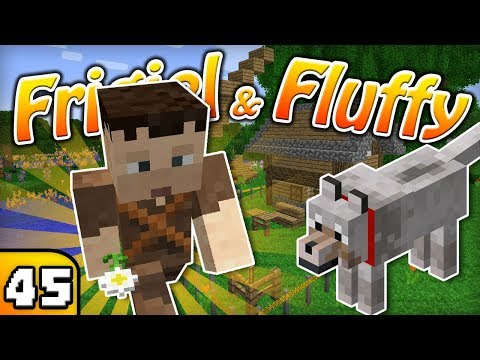 FRIGIEL & FLUFFY : L'HOMME À TOUT FAIRE | Minecraft - S4 Ep.45